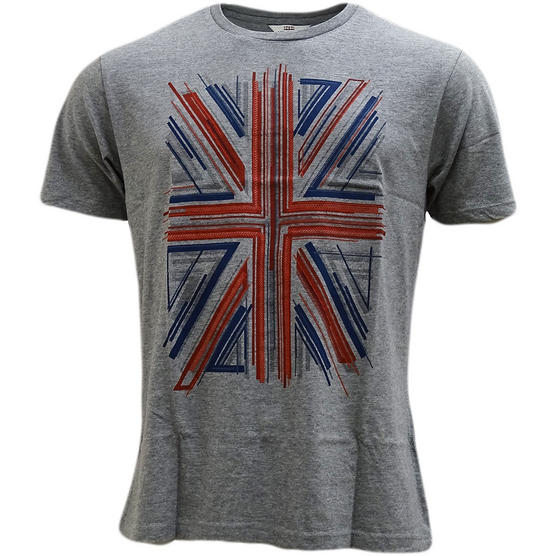 Ben Sherman Union Jack T-Shirt - Mb13441 Thumbnail 2