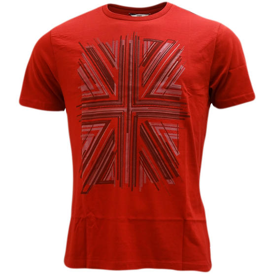 Ben Sherman Union Jack T-Shirt - Mb13441 Thumbnail 4