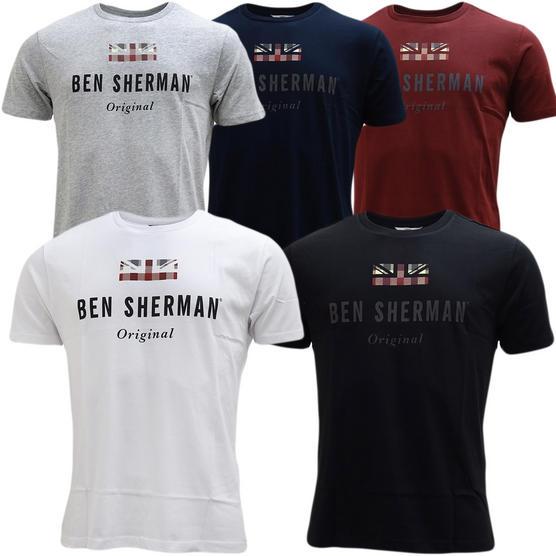 Ben Sherman Small Union Jack T-Shirt - Mb13649 Thumbnail 1