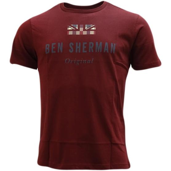 Ben Sherman Small Union Jack T-Shirt - Mb13649 Thumbnail 5