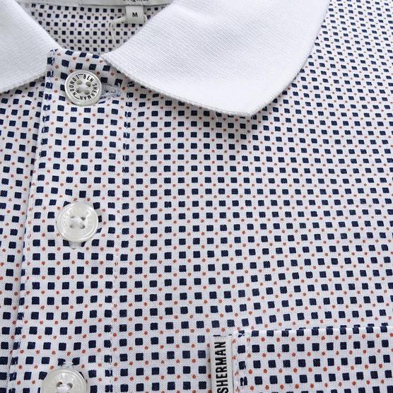 Ben Sherman Square Mod / Retro Polo Shirt - Mc13432 Thumbnail 4