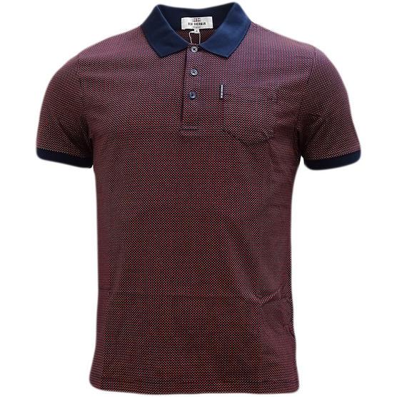 Ben Sherman Square Mod / Retro Polo Shirt - Mc13432 Thumbnail 5
