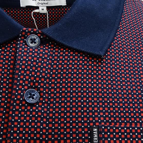 Ben Sherman Square Mod / Retro Polo Shirt - Mc13432 Thumbnail 7