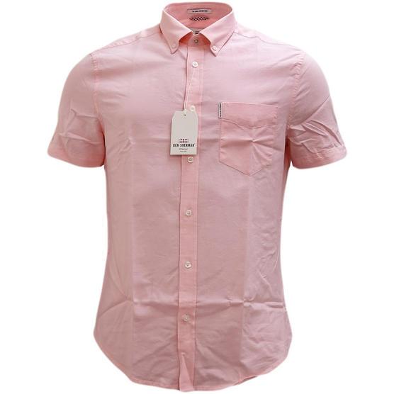 Ben Sherman Plain Button Down Oxford Shirt - Ma13606 Thumbnail 2