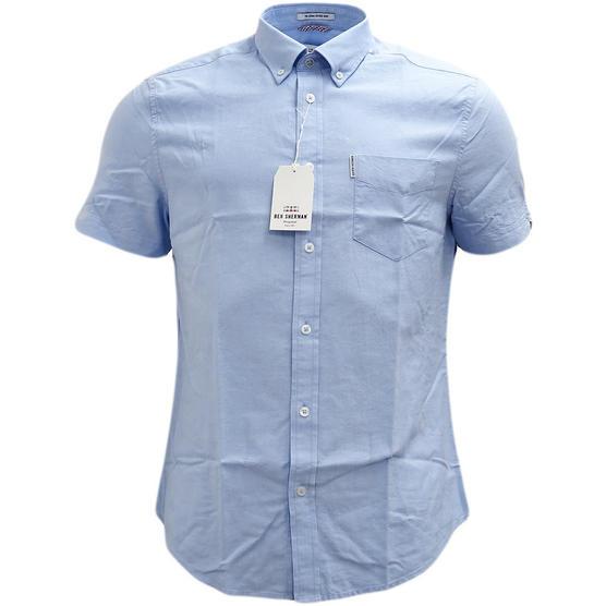 Ben Sherman Plain Button Down Oxford Shirt - Ma13606 Thumbnail 4