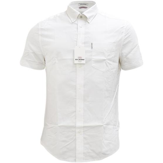 Ben Sherman Plain Button Down Oxford Shirt - Ma13606 Thumbnail 6