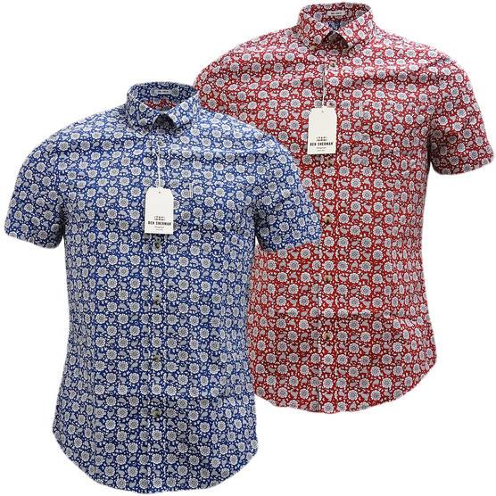 Ben Sherman Retro Floral Shirt - Ma13378 Thumbnail 1