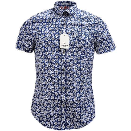 Ben Sherman Retro Floral Shirt - Ma13378 Thumbnail 2