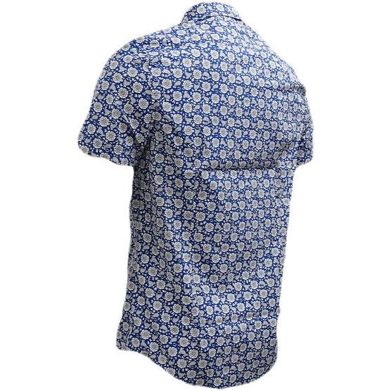 Ben Sherman Retro Floral Shirt - Ma13378 Thumbnail 3