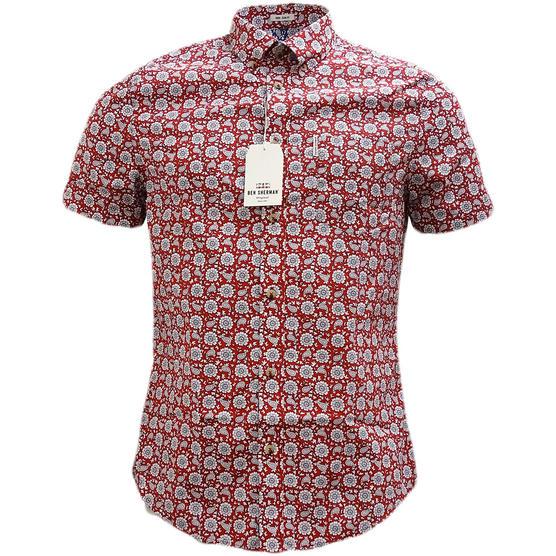 Ben Sherman Retro Floral Shirt - Ma13378 Thumbnail 5