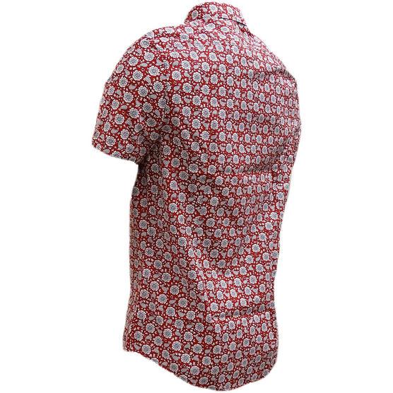 Ben Sherman Retro Floral Shirt - Ma13378 Thumbnail 6