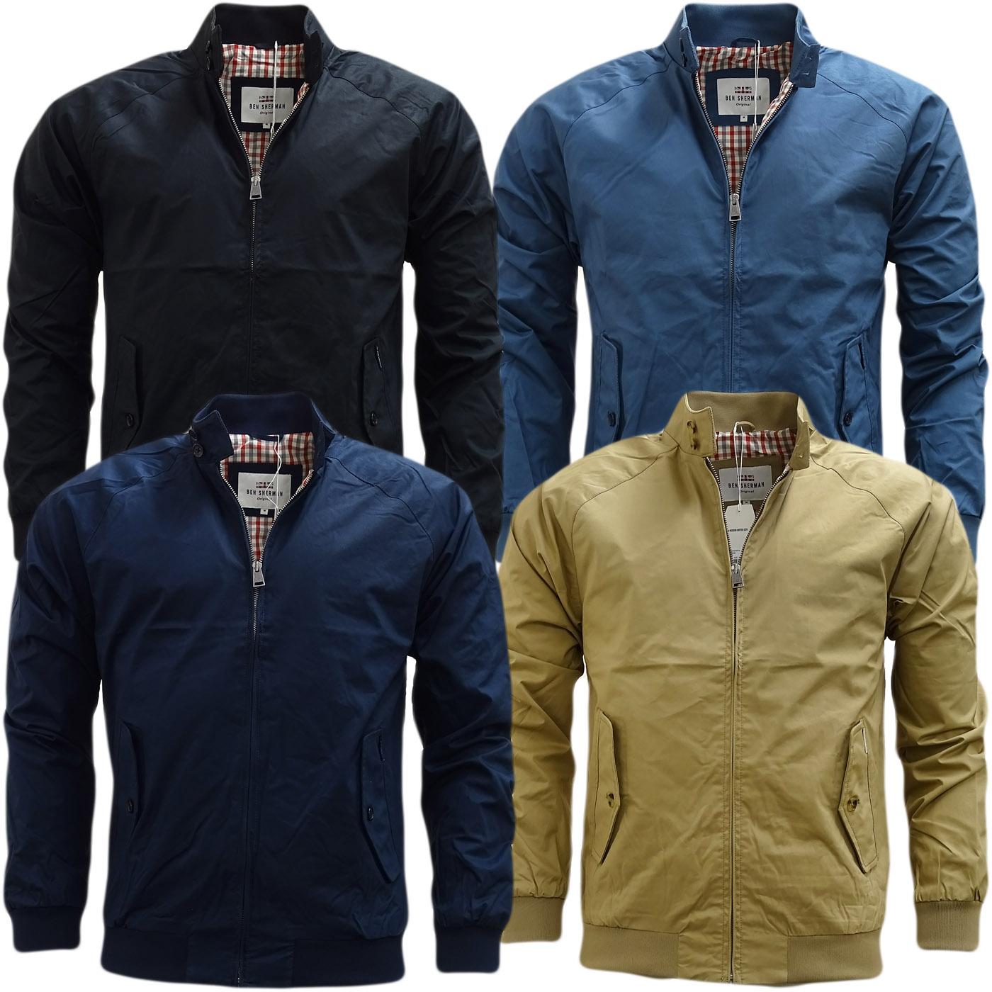 Ben Sherman Harrington Gingham Lining Jacket / Coat - Mf13639