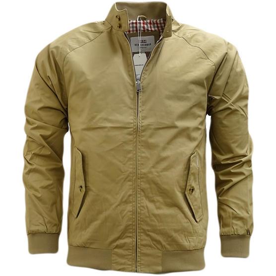 Ben Sherman Harrington Gingham Lining Jacket / Coat - Mf13639 Thumbnail 4