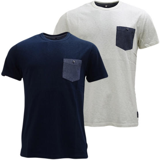 Fcuk Top Pocket Plain T-Shirt - 56Hct Thumbnail 1