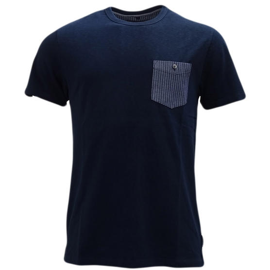 Fcuk Top Pocket Plain T-Shirt - 56Hct Thumbnail 2