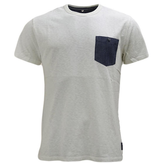 Fcuk Top Pocket Plain T-Shirt - 56Hct Thumbnail 3