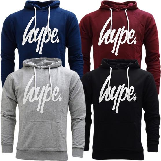 Hype Overhead Sweatshirt Hoodie Jumper - Pullover Hoodie (Wd17) Thumbnail 1