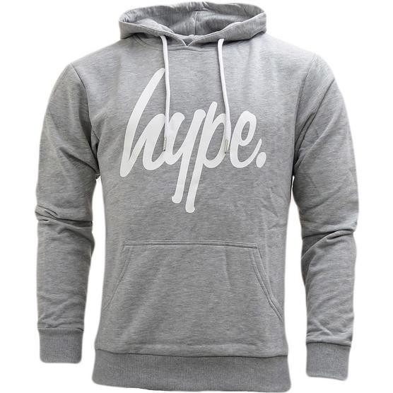Hype Overhead Sweatshirt Hoodie Jumper - Pullover Hoodie (Wd17) Thumbnail 4