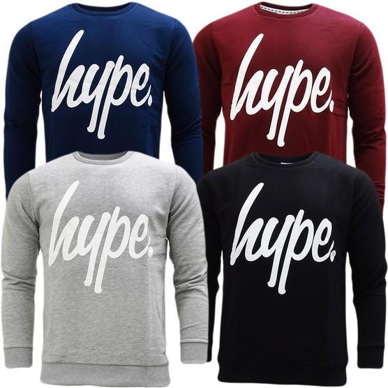 Hype Overhead Crewneck Sweatshirt Jumper - Crewneck Script (S17) Thumbnail 1