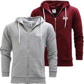 Hype Full Zip Sweatshirt Hoodie Jumper - Zip Hoodie Mini Script
