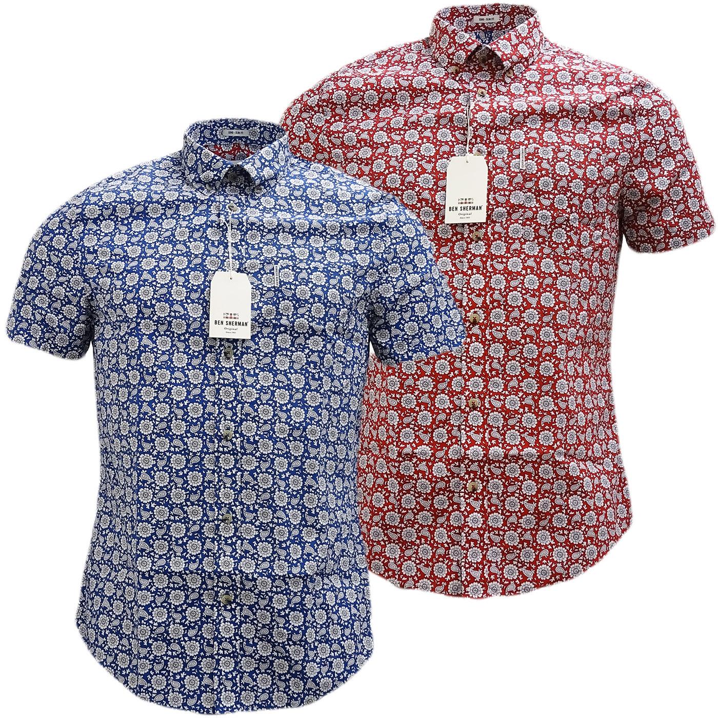 26063bbbca Sentinel Mens Shirts by Ben Sherman (Ma13378) -  NEW