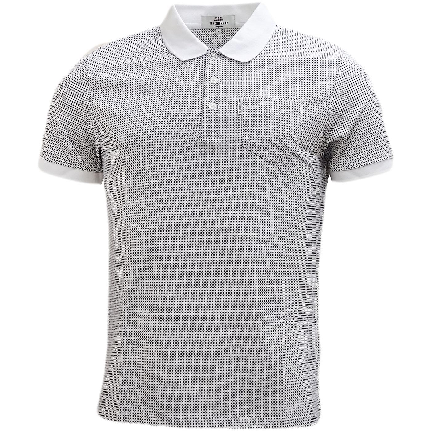 Mc13432 *NEW* Mens Polo Shirts by Ben Sherman