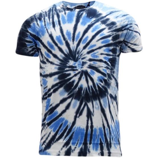 Brave Soul Dye Effect Summer T-Shirt - Jamaica Thumbnail 2