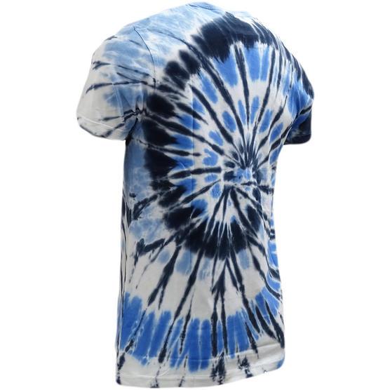 Brave Soul Dye Effect Summer T-Shirt - Jamaica Thumbnail 3