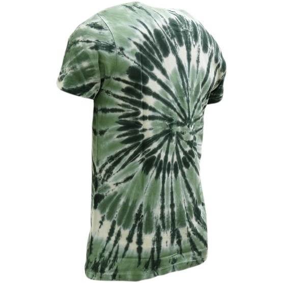Brave Soul Dye Effect Summer T-Shirt - Jamaica Thumbnail 5