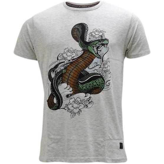 Brave Soul Snake Design T-Shirt - Habu Thumbnail 2
