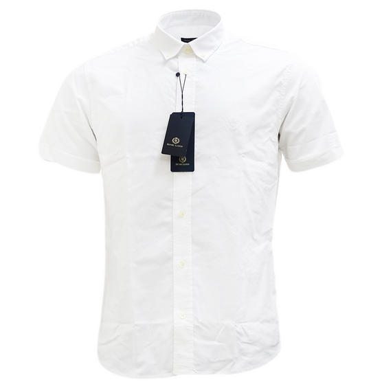Henri Lloyd Plain Button Down Oxford Shirt - Club Thumbnail 6