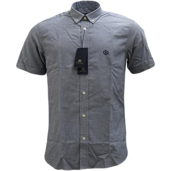 Henri Lloyd Plain Button Down Oxford Shirt - Club Thumbnail 4
