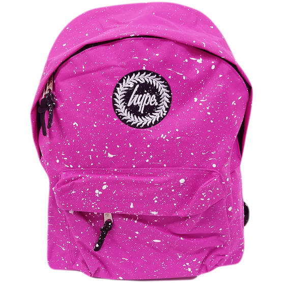 Hype Pink All Over Speckled Rucksack Bag Thumbnail 1