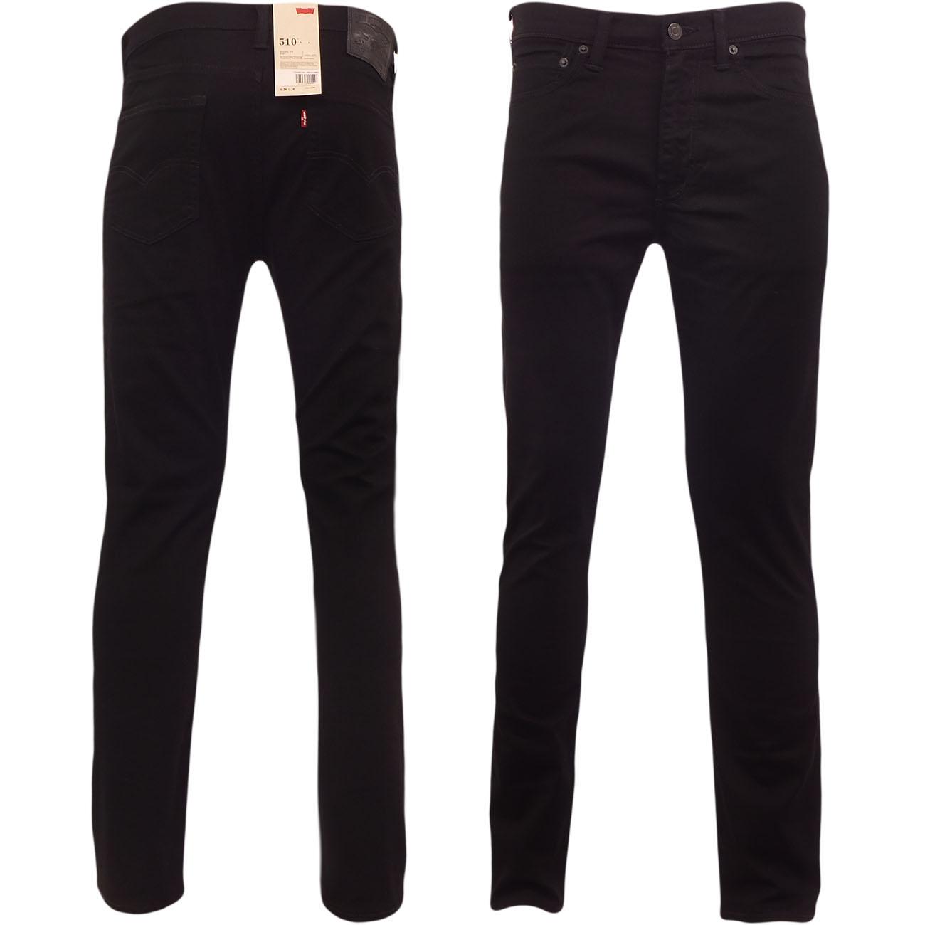 3524b79cb48 Details about Levi 510 Skinny Slim Fit Jean Levi s Denim Trouser Pant Jeans