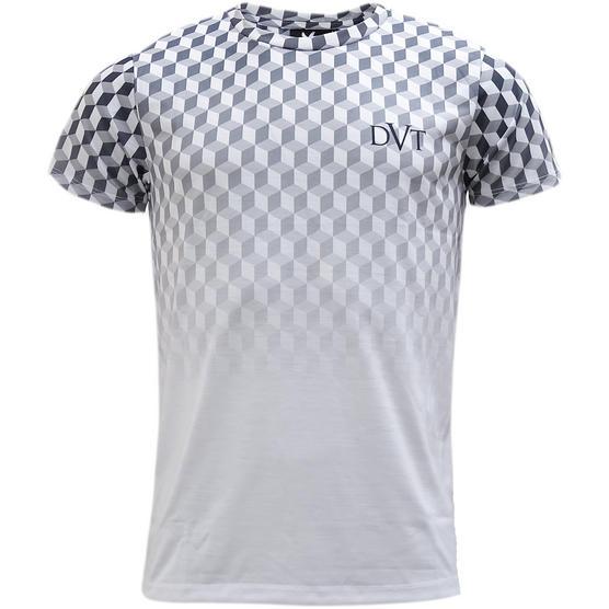 Devote White / Black 3D Box Design T-Shirt Thumbnail 1