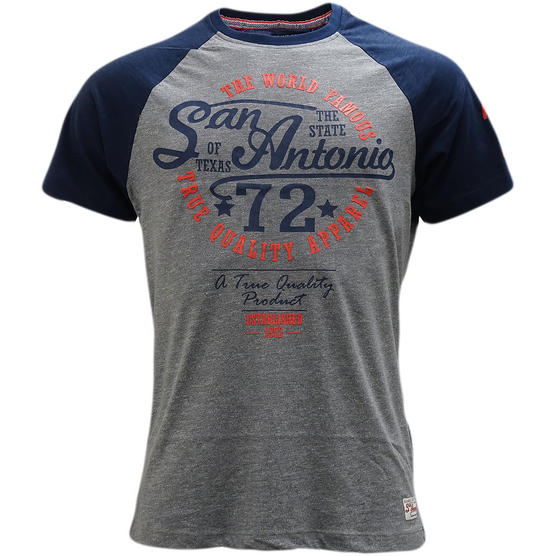 Brave Soul San Antonio Logo T-Shirt - Antonio Thumbnail 4