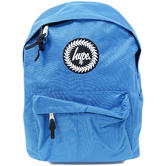 Hype Plain Blue Rucksack / Backpack Bag