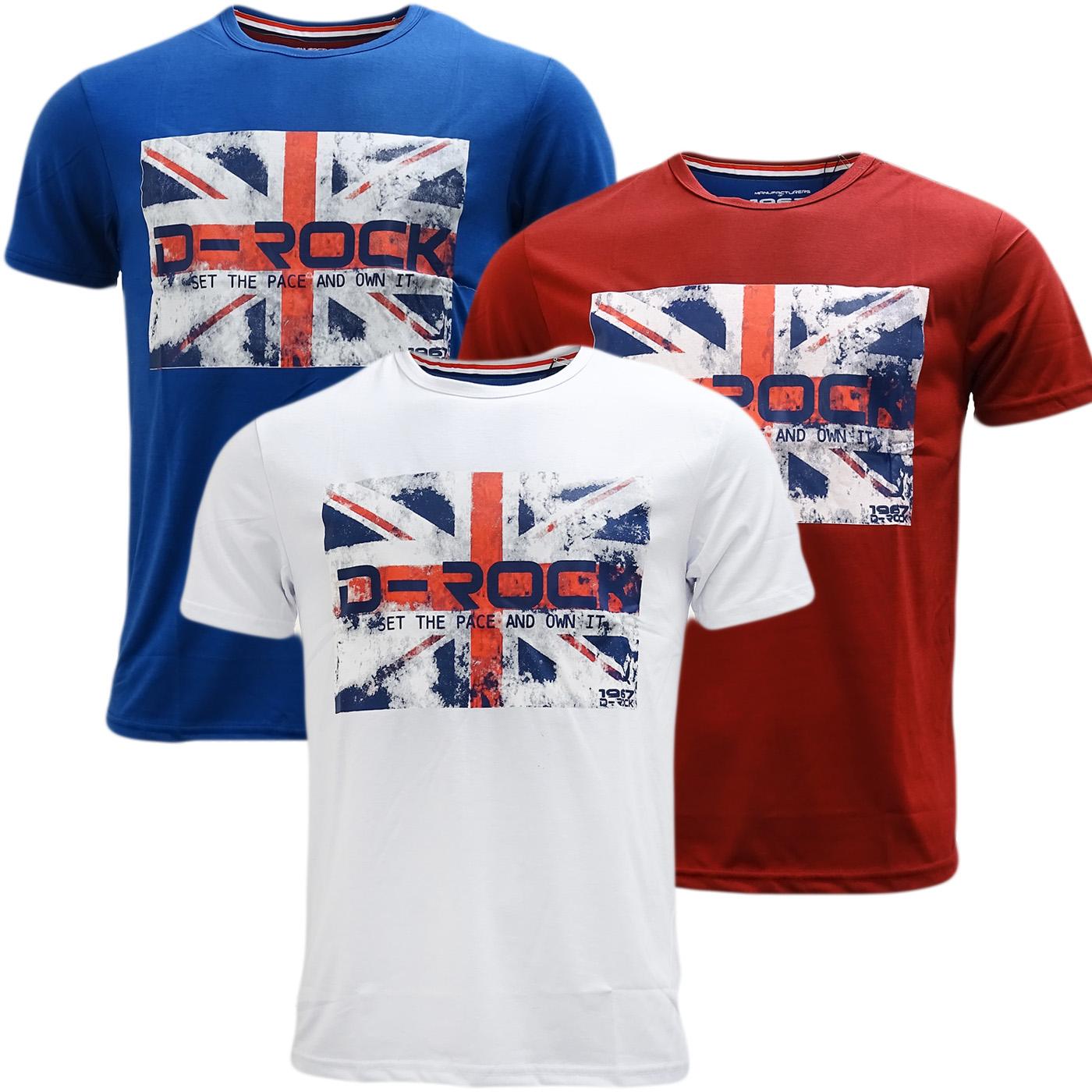 D Rock Union Jack T-Shirt - 1991