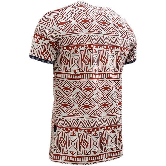 D Rock Aztec / Mod Retro Design T-Shirt - Dr-16-62 Thumbnail 5