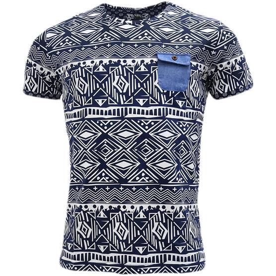 D Rock Aztec / Mod Retro Design T-Shirt - Dr-16-62 Thumbnail 6