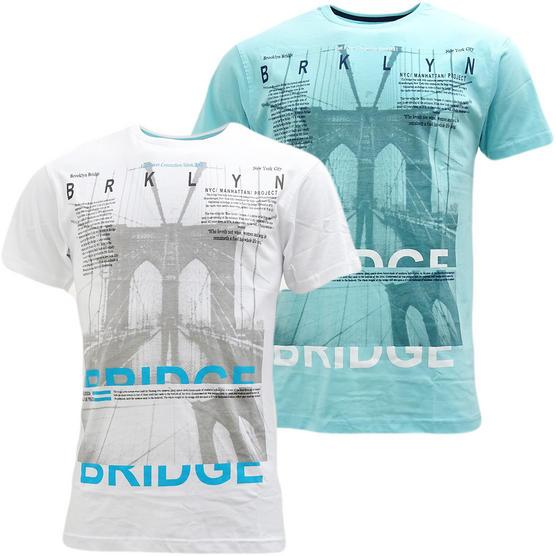 Cargo Brooklyn Bridge T-Shirt - Brooklyn Thumbnail 1