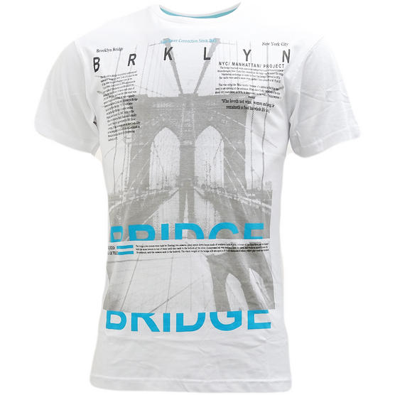 Cargo Brooklyn Bridge T-Shirt - Brooklyn Thumbnail 3