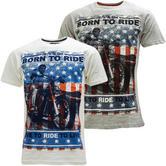 Cargo Born To Ride T-Shirt - Motorbike