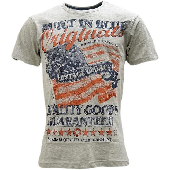 Cargo American Flag 'Vintage Legacy' T-Shirt - Flag Thumbnail 3
