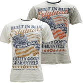 Cargo American Flag 'Vintage Legacy' T-Shirt - Flag