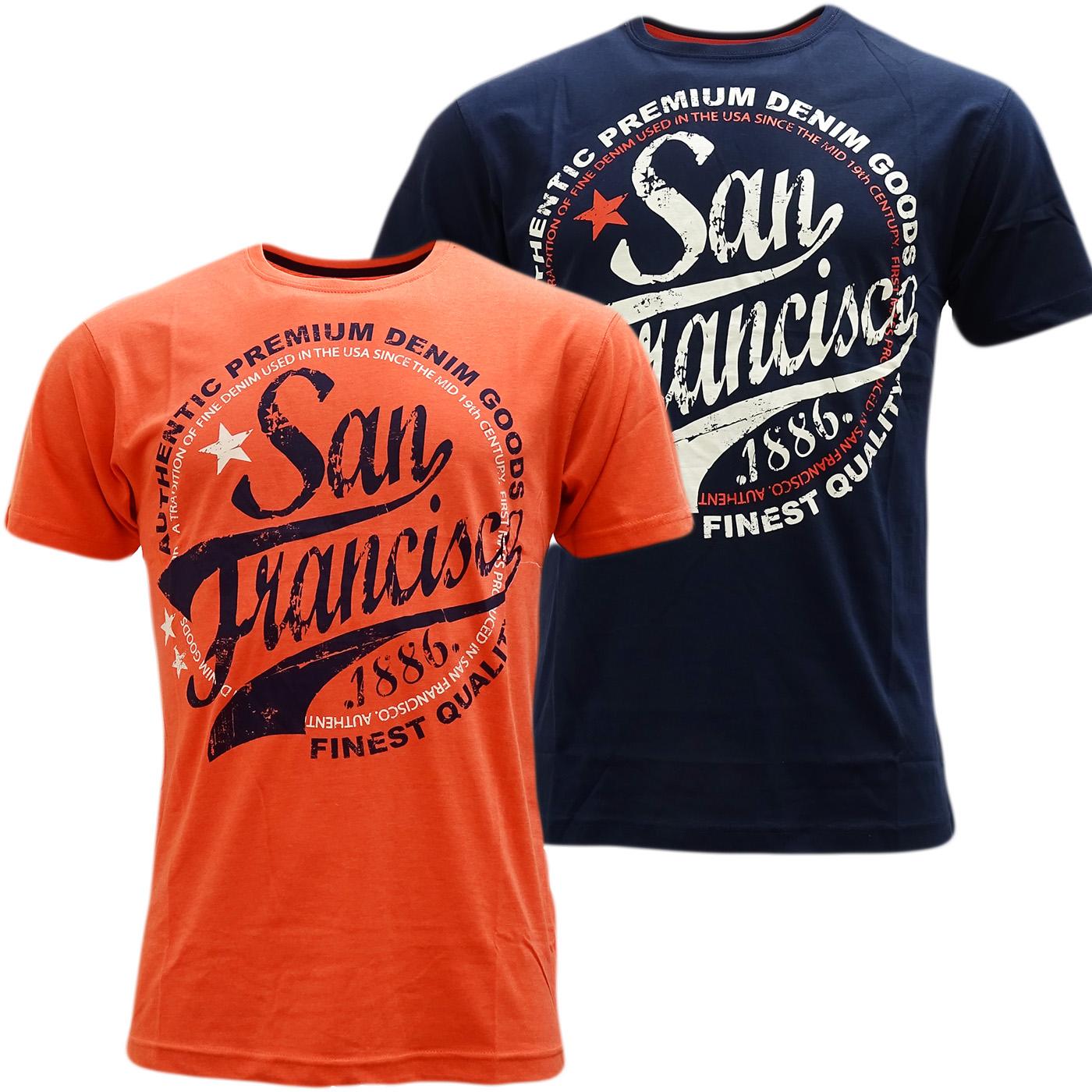Cargo Designer Top T-Shirt - San Francisco