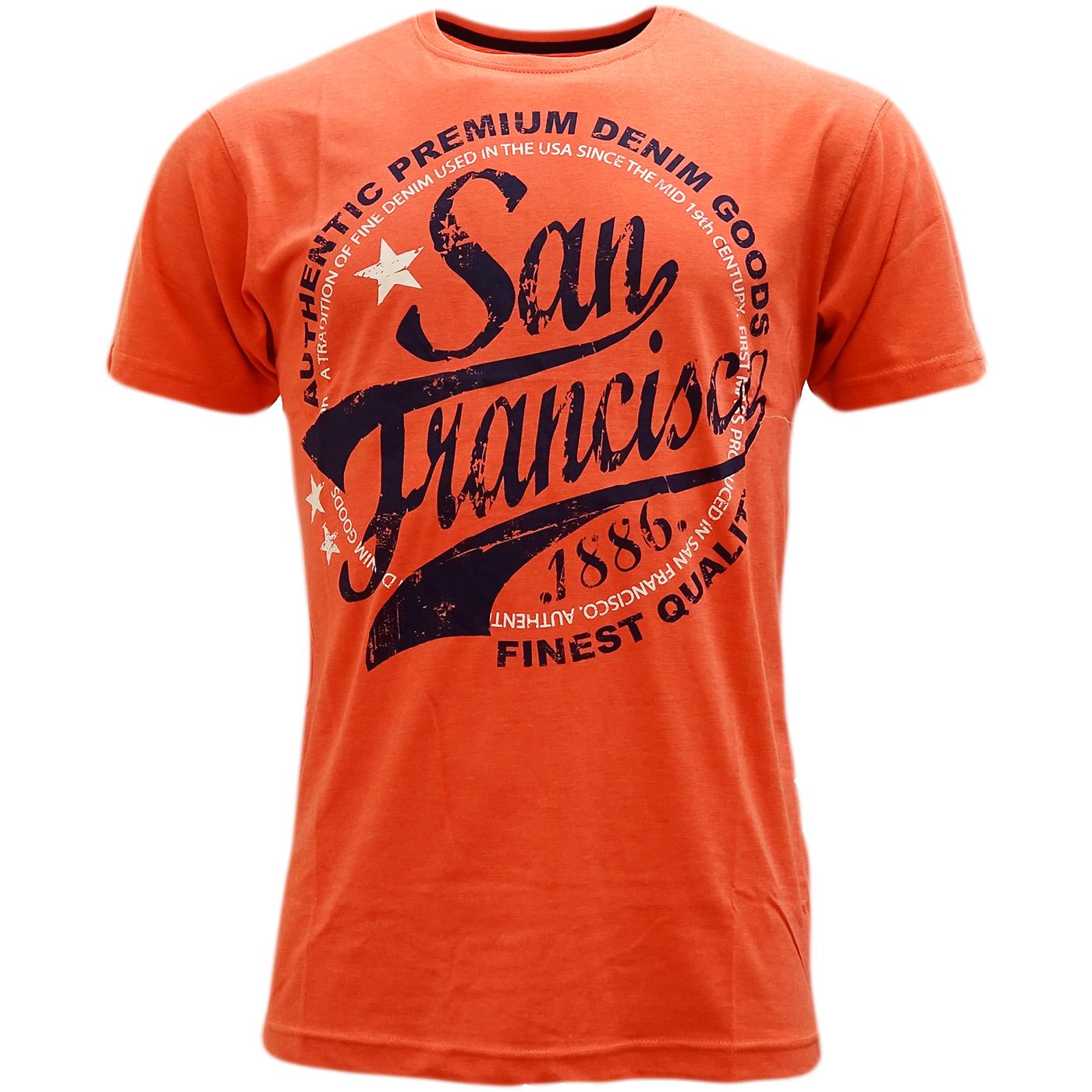 Cargo Designer Top T Shirt San Francisco Cargo Mr H