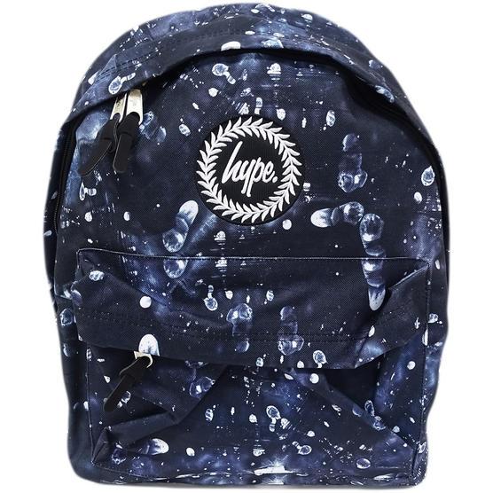 Hype Dark Backpack / All Over Logo Bag - Fingerprint Thumbnail 1