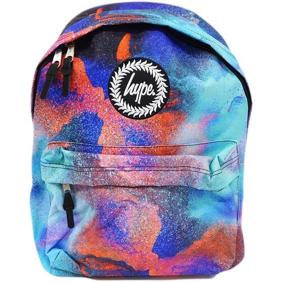 Hype Multi Coloured Backpack Bag  - Paints Thumbnail 1