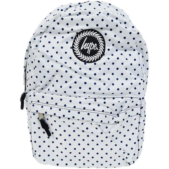 Hype Polka with Navy Bag - Boys / Girls Backpack, Rucksack - Reversible Thumbnail 1